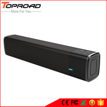 TOPROAD Portable 20w Wireless Bluetooth Speaker Soundbar Super Bass Stereo Loudspeaker with Touch NFC Speakers for Phone TV