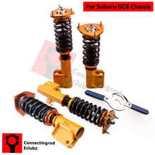 Coilover Kit for Subaru Impreza WRX GC8 93-01 Shock Absorbers 5x100 PCD Front & Rear Struts Strong Spring 10kg/mm(China)