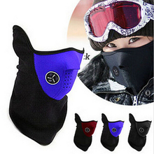 Outdoor windproof Cycling Mask riding bicycle fleece winter warm half face Ski mask Motorcycle sport mask Dust Protecting DM0103