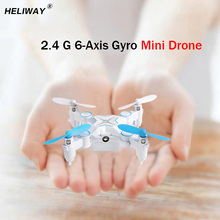 Mini Drone Micro Pocket 4CH 6Axis Gyro Switchable Controller RC Helicopter Kids Toys 901 Quadcopter(China)