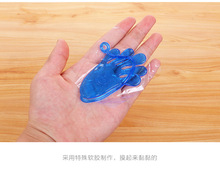 Gags practical jokes Sticky toy one pcs palm pattern wall climbing hand catch for children