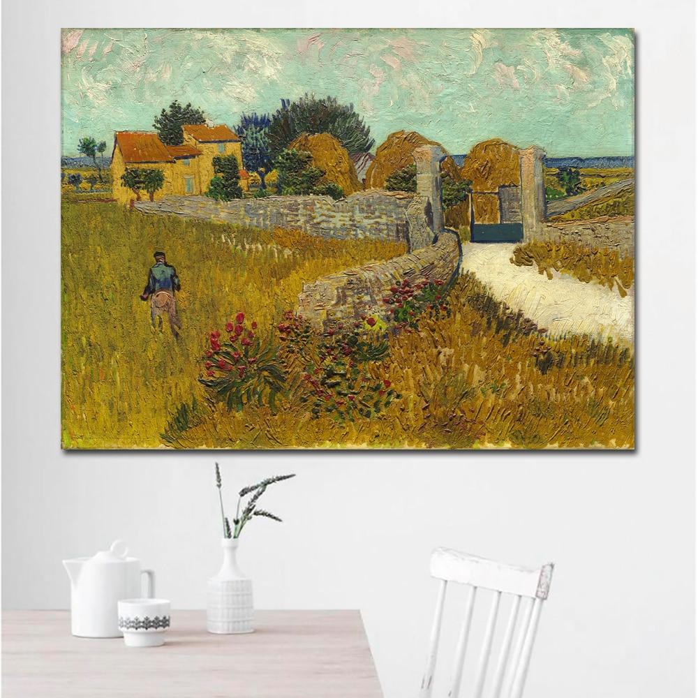 Farmhouse in Provence-70x95