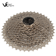 Lock bicycle freewheel 8 9 10 11 speed cassette cog ultralight sprockets bike cassette 10 speed hollow high tension steel plate(China)
