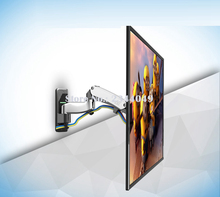 NB F500 Gas Spring 50-60 inch LED TV Wall Mount Monitor Holder Ergonomical Mount Loading 14-23kgs Max.VESA 400*400mm(China)