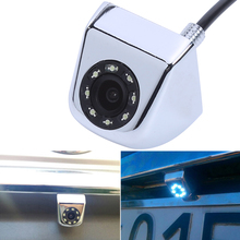 Waterproof Classic CCD HD Car Rear View Camera 140 Degree Wide Angle Real  With 8 LED light For Night Vision