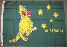 BOXING KANGAROO FLAG AUSTRALIA DAY BANNER AUSTRALIAN RUGBY OLYMPICS High Quality Flag Custom flag Drop Shipping