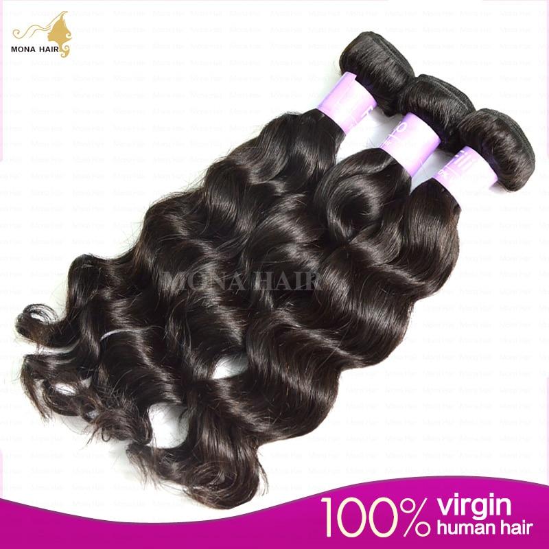 Filipino Virgin Hair 7A  Grade Natural Loose Wave 100g Bundle 1pcs 100% Unprocessed Full Thick Virgin Weave Hair<br><br>Aliexpress