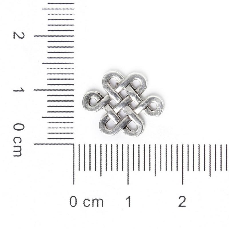 LEENAHAR 10pcslot Zinc Alloy Antique Gold Silver Plated