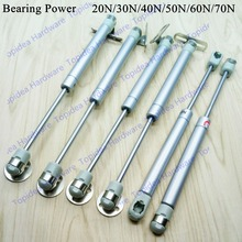20N/30N/40N/50N/60N/70N Load Bearing Lift Up Hydraulic Gas Spring Casting Aluminum cabinet kitchen Cupboard support
