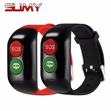 Smart Wristband for Old Man GPS WIFI LBS Position Smart Band Device Elder Smartband Blood Heart Rate Monitor Tracker Position