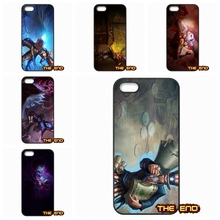 For iPhone 4 4S 5 5C SE 6 6S 7 Plus Galaxy J5 A5 A3 S5 S7 S6 Edge Lovely cute Orianna Ryze Customize Cell Phone Cases Covers