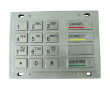 Wincor ATM PCI EPP, ATM Parts Keyboard V5 EPP PCI2.0 Approved,ATM keypad,Kiosk pin pad,ATM PCI EPP Keypad Assembly Replacement