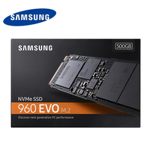 500G SAMSUNG 960 EVO M.2 SSD 500GB Internal Solid State Hard Disk for Laptop PC Computer(China)