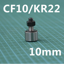 4 pcs CF10 / KR22 Cam Follower Style 10mm Cam Follower Needle Roller Bearing(China)