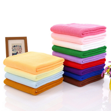 1PCS 70cm*140cm Sports Fitness Travel Bathroom Towels Beach Swim Bathing Baths Quick Dry Microfiber Bath Towels