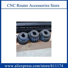 Left helical rack wheel Module 2 left rack pinion gear teeth wheel for Right helical rack M2(China)