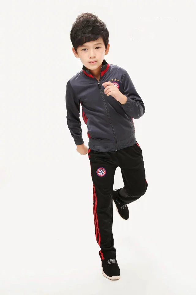 Kidschildren Autumn Football Kits Jerseys Set Training Maillot Foot
