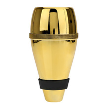 1Pcs Gold Light-weigh Practice Trumpet Straight Mute Silencer Made of Good Plastic for Trumpets Instrument