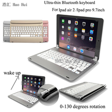 Russian & Special Ultra Slim ABS Wireless Bluetooth Keyboard Bracket-style For Apple iPad Air 2 for Ipad Pro 9.7""