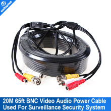 20M Audio Video 65FT RCA Power AV Cable F extension cctv cable Camera Security Surveillance