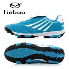 TIEBAO Professional OutdoorTraining Shoes Sneakers TF Turf Soles Athletic Training Sneakers Men Women Football Boots(China)