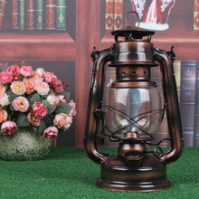 Retro Wall Lamp European Vintage Style kerosene lamp Beside Light for Bar Coffee Shop kerosene Lights(China)
