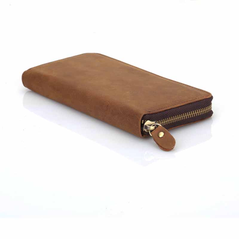 Men Long Wallet Clutch Wrist Bag Wallets Leather Purse Handy Bags Purses Card Holder With Zipper WT0090<br><br>Aliexpress