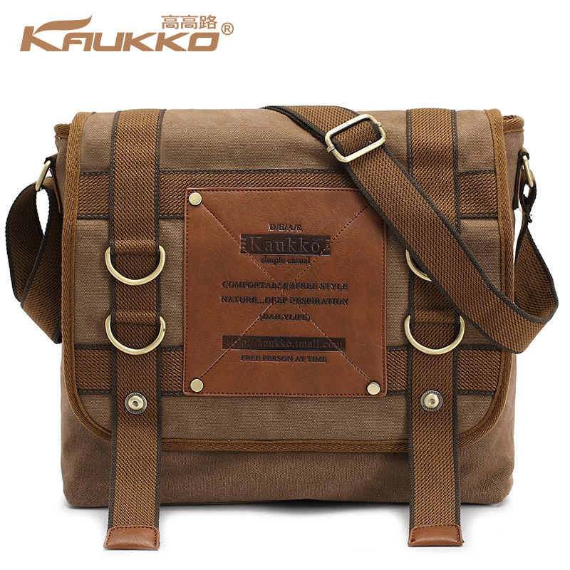 KAUKKO Mens Messenger Bag Single Cross Body Shouder Handbag Travel Casual Motorcycle Handbag School Daily Bag Kaukko Bag<br><br>Aliexpress