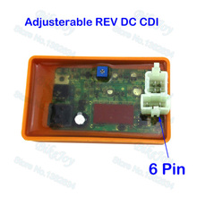 Adjustable Racing DC CDI REV Box 6 Pin For Kazuma Falcon Dingo 250 250cc ATV Quad Motorcycle