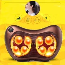 Health Care 8 Deep-Kneading Electric Massage Pillow Body Neck Massager Relax Back Shoulder Pain Back