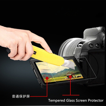 Original 9H Ultra Thin 0.26mm Tempered Glass Screen Protector For Samsung NX3000 Casio TR350 Canon G7X Toughened Protective Film(China)