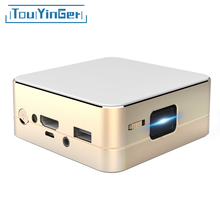 Mini pocket projector T5 DLP 854*480 LED videoprojecteur beamer home theater portable data show pico retroprojetor Support 1080P