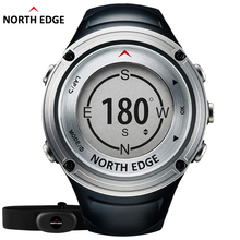 Relogio Masculino North Edge Men's GPS Sport Smart Digital watch Waterproof clock Heart Rate Monitor Military Bluetooth Hours