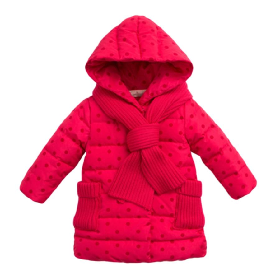 New 2016 Children Parka Girls Winter Coat Long Jacket Warm Coat Kids Luxury Soft Girl Coat Winter Thicken Children 50F1521Одежда и ак�е��уары<br><br><br>Aliexpress