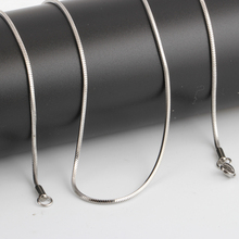 Fashion Silver Chains Necklace For Men Women Stainless Steel Snake Chain 18/20inch Wholesale Chain Customized Jewelry