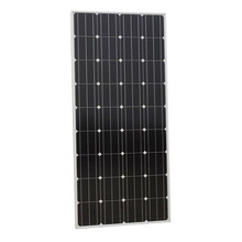 Eco 160W 12V mono solar panel Pv solar module for 12v Battery Charger, home system, RV Boat Homes off grid & Free shipping(China)