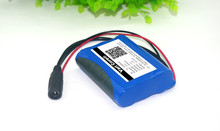 12 V 2600 mAh lithium-ion Battery 12.6 V to 11.1 V CCTV Camera Rechargeable battery pack 18650 batteries(China)