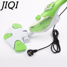 JIQI 110V 220V electric multifunction Handheld floor Steam cleaner Window mop high temperature Sterilizer sweeper water sprayer(China)