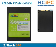 HCiPC P202-B23 P2SSM-64G25B4 64G 2.5Inch SATA2 SSD,Solid State Drive,SSD MSATA, Tablet,Mini Box PC,Industrial PC,ITX motherboard(China)