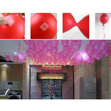 2016 100Pcs Balloons Glue Point Foil Latex Balloon Fix Gum Air Balls Inflatable Toys Wedding Party Birthday Decorantion(China)