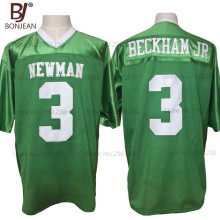 2017 New Cheap Odell Beckham Jr. 3 Isidore Newman High School Green American Football Jersey Throwback Stitched Mens Jersey
