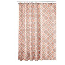 Inter Design Trellis Fabric Shower Curtain 72 Hot Sale(China)