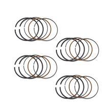 Motorcycle Engine Parts STD Bore Size 57.5mm Piston Rings For Kawasaki ZZR400 ZZR 400 1992-2003 ZRX400 ZRX 400 I II III