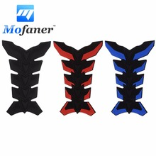 3D Rubber Motorcycle Motorbike Modified Fuel Tank Pad Protector Sticker Decal