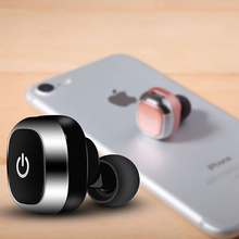 Mini Wireless Bluetooth Earphones Handsfree Portable Driving Earbuds Headphones with Built in Mic for iPhone Samsung Smartphones(China)