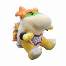 "Free Shipping Super Mario Brothers 6"" Bowser JR Plush Doll Soft for kids Figure"