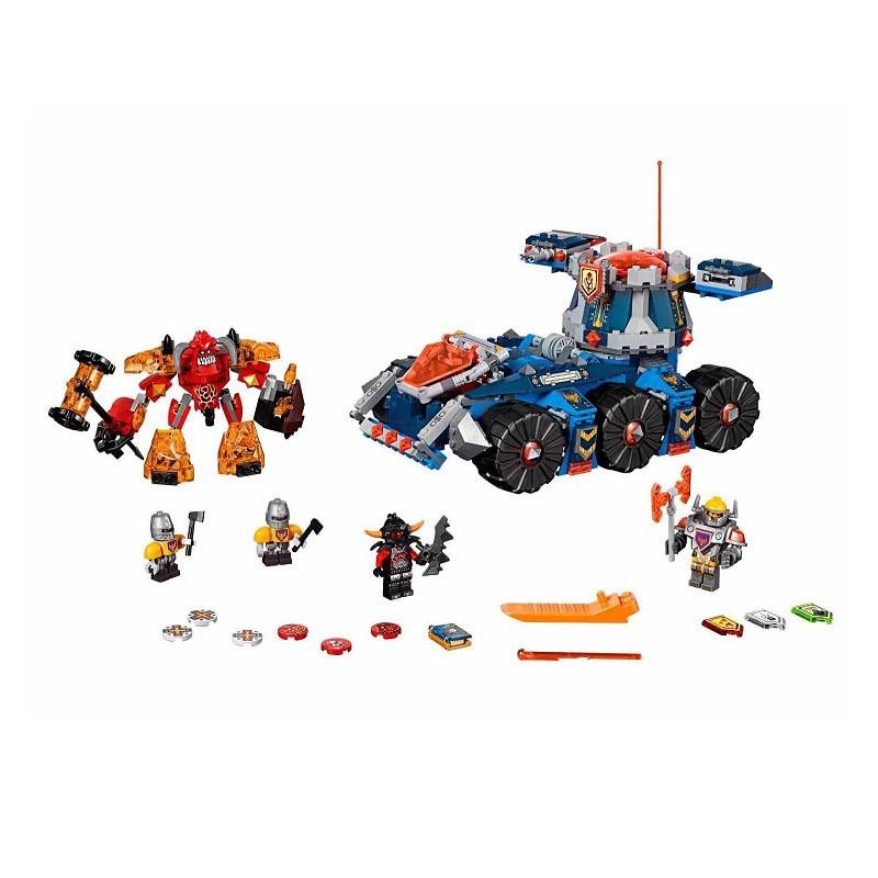 Lepin 70322 Pogo Bela 10520 Nexus Knights Future Tower Defense Tank Building Blocks Bricks Compatible Legoe Toys<br>