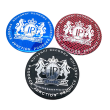 HARATH 4pcs/lot Car Styling 56mm 65mm Alloy Tyre JP Car Tyre Steering Wheel Center Hub Cap Emblem Badge Sports metal Sticker(China)