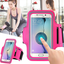 For Samsung Galaxy j5 A5 A3 2016 S4 Running Arm Band Gym Sport Cell Phone Belt Pounch Pouch Workout Mobile Case Cover Bag Holder