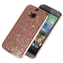 Bling Sparkle Glitter Case For HTC One M8 M9 Soft Silicone TPU Cover for Moto G4 /G4 play Back Shell Phone Cases For LG G3 G4 G5